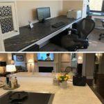 custom desktop and countertop project