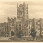 Keating Hall at Fordham University Rose Hill Campus 1940s