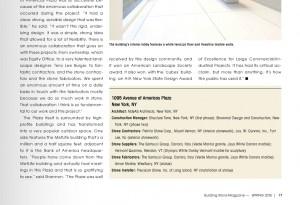 Petrillo Stone Corp Featured in Building Stone Magazine