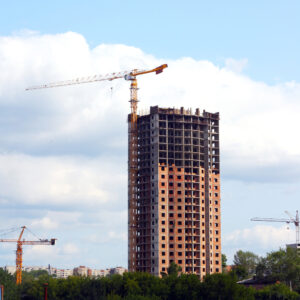 Raising an apartment building